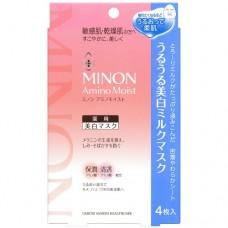 MINON ホワイトニングマスク 美白面膜 (4片)